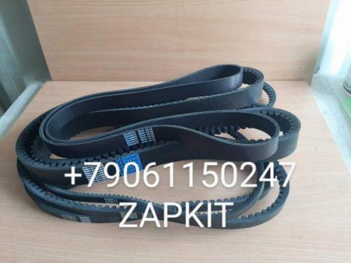 Комплект ремней на хайгер higer хагер 6119, ремни на хайгер higer 6119 8pk-615, AV15X-1740 2 шт. , AV20-1100 , 2V17-1995, AV13-975