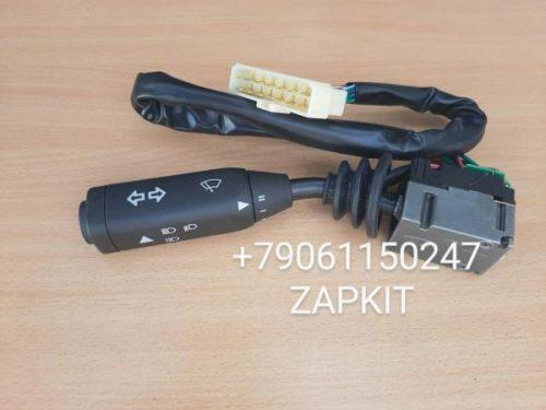 Подрулевой переключатель поворотов 37E01-04011A хайгер higer хагер 6109 6118 6129 одна фишка