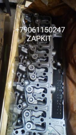Головка блока цилиндров ГБЦ 3966454 3917287, 3967458, 3925400, 3966453 - 6BТ, EQB 180-20, V- 5.9л , евро-2 на хагер хигер хайгер higer 6840