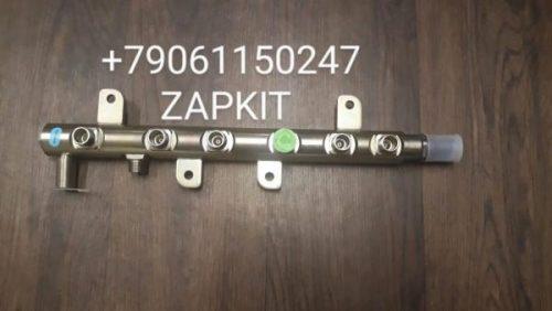 Рампа топливная евро-3 ISBe,ISDe V=6.7 E-3 в сборе 3977530,0445226042 на хагер хигер хайгер higer 6885 6119 6109, камаз камминз isbe 6,7л