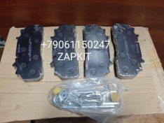 Колодка тормозная передняя дисковая хагер хигер хайгер Higer KLQ6840,6885, 6928 , 35A13-19505 комплект 4 шт.
