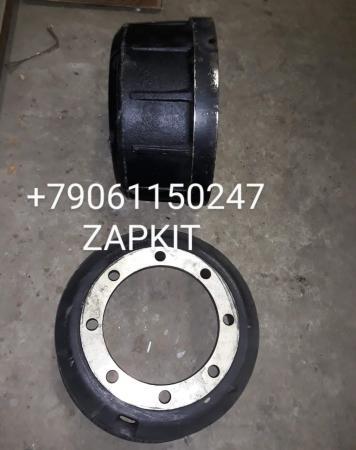 Тормозной барабан задний для автобуса хагер хайгер хигер higer 6840 , 35A16-02514 ширина 155 мм