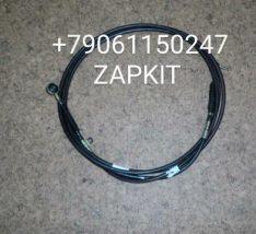 Трос КПП 6.4м 17KA1-02200 нижний черный хагер хигер хайгер Higer 6840,6885