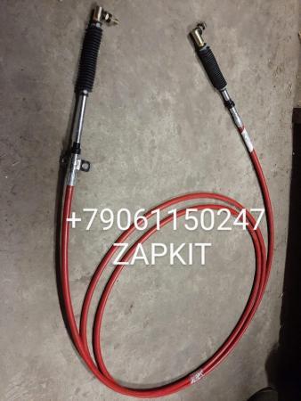 17KA1-02100 Трос КПП верхний красный длина 6,45м хагер хигер хайгер Higer 6885