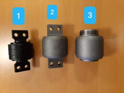 Сайлентблок саленблок реактивной тяги, хагер хигер хайгер higer KLQ6109,6119 ,6129 ,29V55-03530, 29v55-03531, 29v55-03550