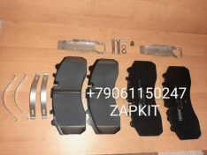 Колодка тормозная передняя комплект 4 шт. 35SF401508, WVA29087 ,дисковые тормоза на хагер хигер хайгер higer 6119, 6129, 6122, кинг лонг 6129