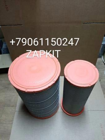 Фильтр воздушный K3050 11VNK-09611 AF26433 ,AF26434 , хагер хайгер хигер higer 6129.