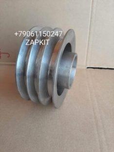 Шкив промежуточный системы охлаждения 3 ручья 13TB3-02502 1300BXP1-02004 хагер хайгер HIGER 6118 6885