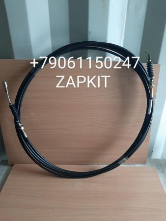 11T32-08350 Трос газа L- 9.5 м, длина 9.5 м, хайгер higer 6109 евро-2
