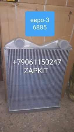 Интеркулер , охладитель воздуха, воздушный радиатор 11KA1-18001, хагер хигер хайгер higer KLQ6840,KLQ6885