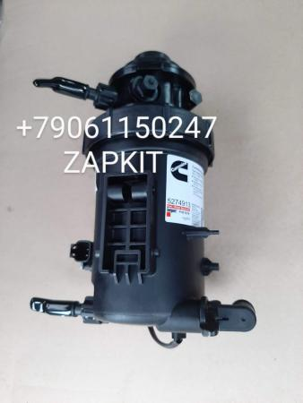 Фильтр топливный сепаратор 12v в сборе Cummins ISF2.8 для Газель 5274913,Сепаратор топливный ГАЗель дв.Cummins 2.8 в сборе З5274913 5283172 5267294