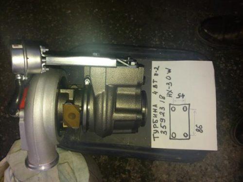 Турбокомпрессор турбина HOLSET HX30W 4040383 3592318 - 4BTA3.9 на автобусы хагер паз ютонг 6737
