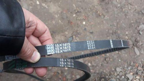 Ремень винтилятора 15*1615 ,AVX 15*1615 клиновой на автобус хайгер хагер HIGER 6885 6109 вентилятора