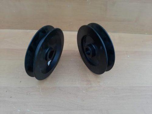 Шкив шкиф вентилятора охлаждения винтилятора радиатора (1 ручей) 13TB3-02503 диаметр 150 мм,хагер хайгер HIGER 6885, 6883, 6840 6118