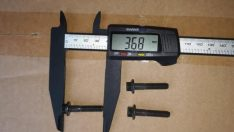 Болт крепления топливной форсунки (M 6x1x30) Cummins ISBE isle , 390062 камминз,cummins хагер хигер хайгер higer