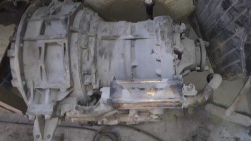 АКПП ZF 6HP504C (4182.004.037) коробка автомат на автобус маз 206 б.у. в рабочем состоянии
