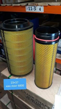 Воздушный фильтр на автобус кин лонг, кинг лонг King Long 6800 номер 2337