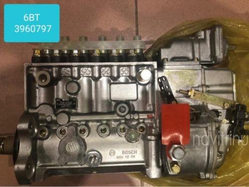 ТНВД топливный насос высокого давления Евро-2 6BT 3960797 для двигателя CUMMINS на хагер хигер хайгер higer 6840, 6883.