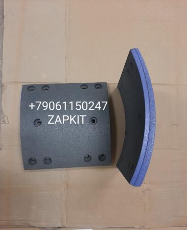 35A23-02545 Накладки тормозные задние конусные хагер хигер хайгер higer 6826 комплект 8шт. с клепками