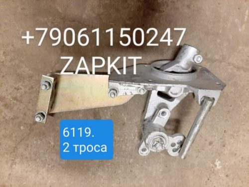 Кулиса КПП 17T01-03010 , Механизм переключения передач 17E01-03010 хайгер higer хагер 6119, 6129 , под 2 троса